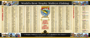 2013 Budd's Master Angler Club Members