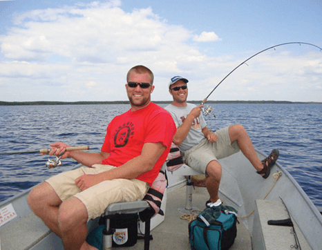 Trophy Walleye and Northern Pike Fishing at Budd's Gunisao Lake Lodge, Manitoba, Canada