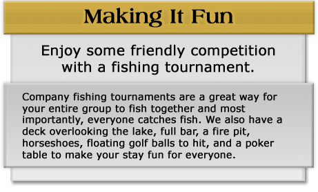 Making it fun with Company Trophy Walleye and Northern Pike Fishing Tournaments at Budd's Gunisao Lake Lodge, Manitoba, Canada