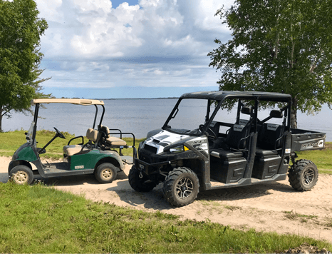 handicap accessible services at Budd's Gunisao Lake Lodge