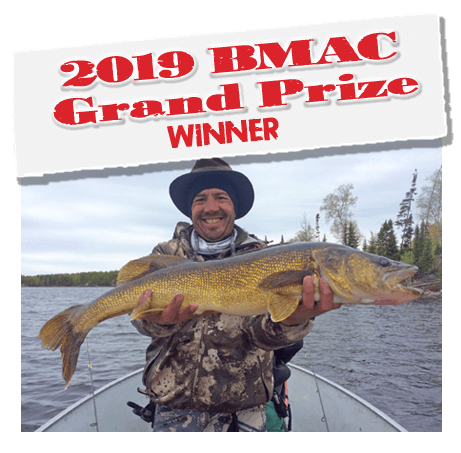 2019 Budd's Master Angler Club Grand Prize Winner